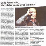 Marc Gelas comedie odeon Lyon