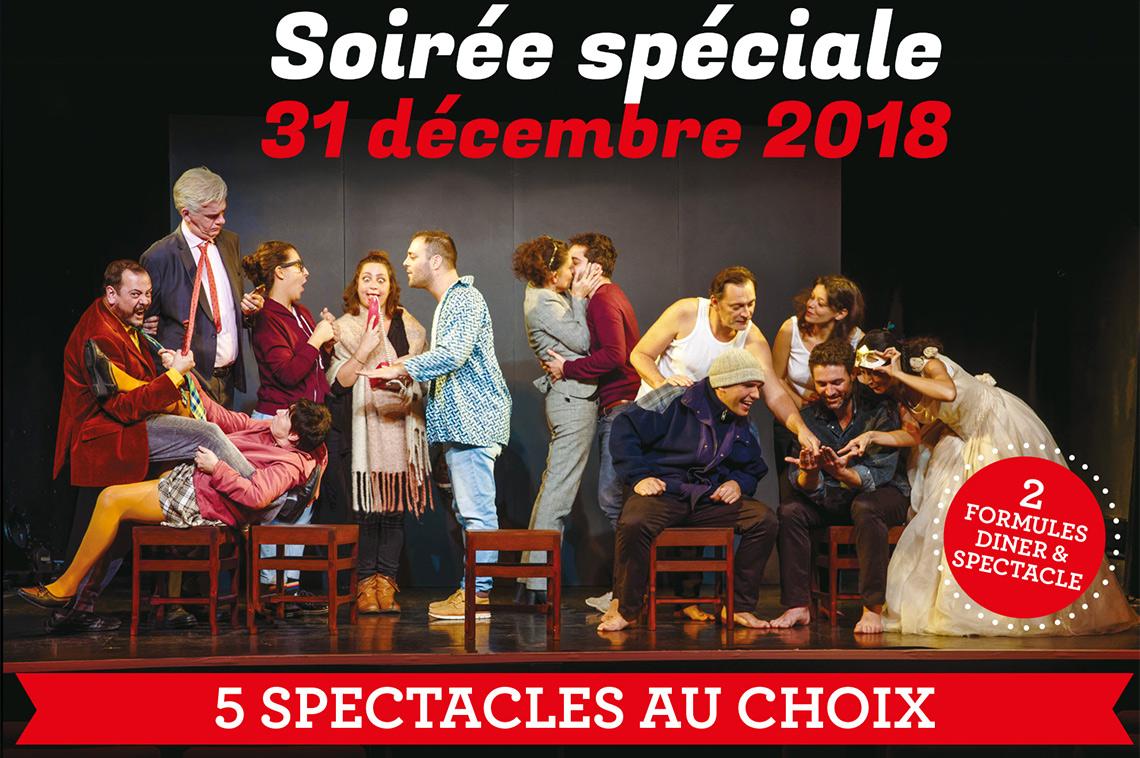Soirée spéciale 31 décembre !