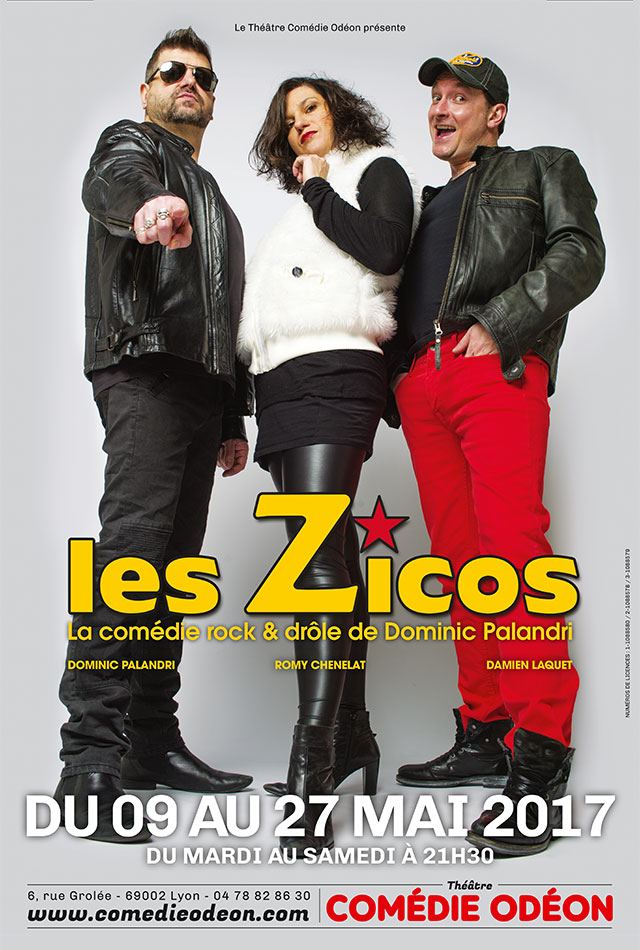 les zicos comedie odeon