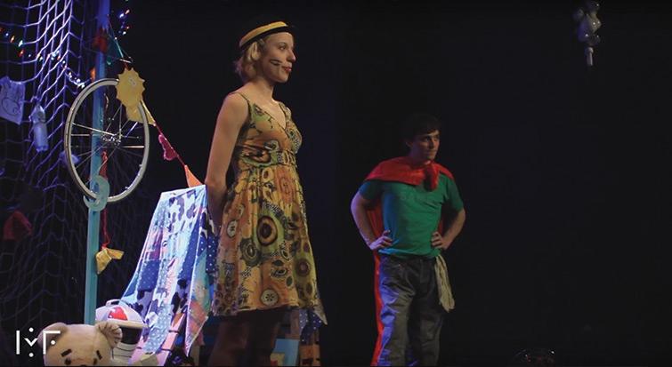 Badaboum, roi cassé - Théâtre Comédie Odéon Lyon