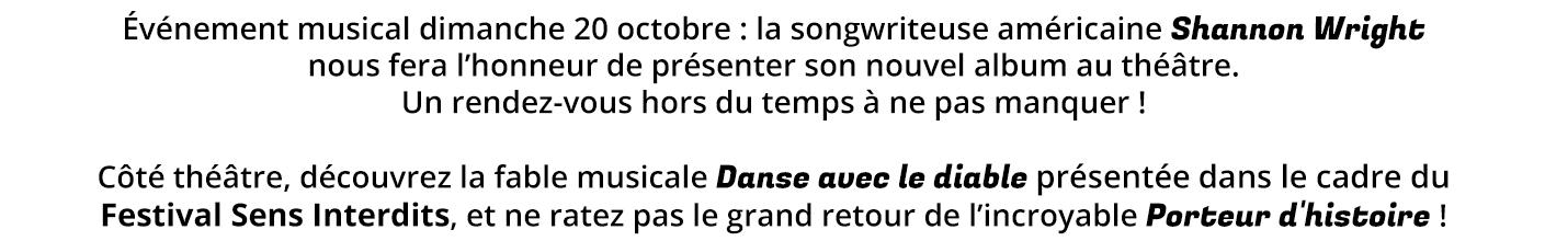 Café théâtre : au programme du Comédie Odéon Annonce-shannon-wright-Danse-avec-le-diable-Porteur-cours_3