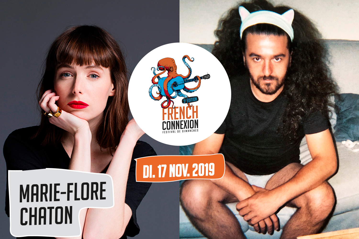 French Connexion : Marie-Flore + Chaton