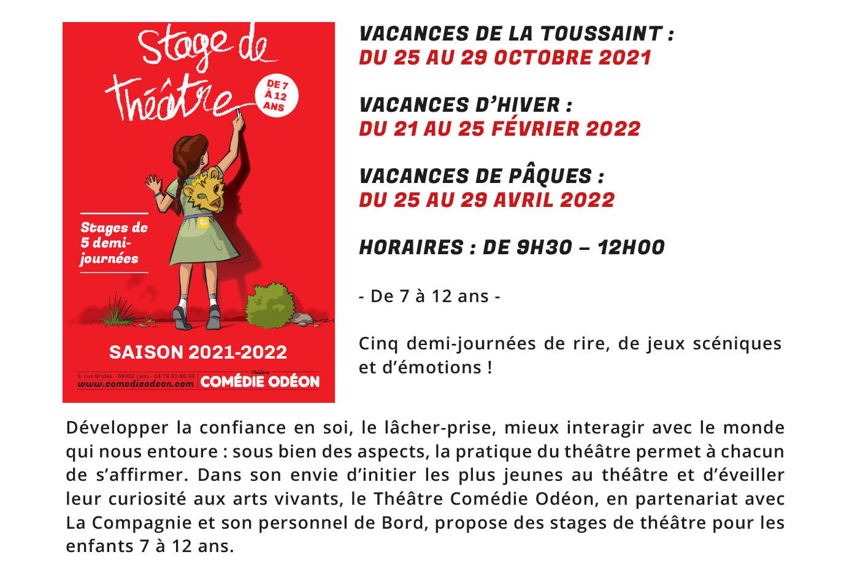 Le Petit Prince, l'Ile au trésor... une programmation Jeune public du Comédie Odéon NEWSLETTER-Jeune-public-Septembre-2021-10