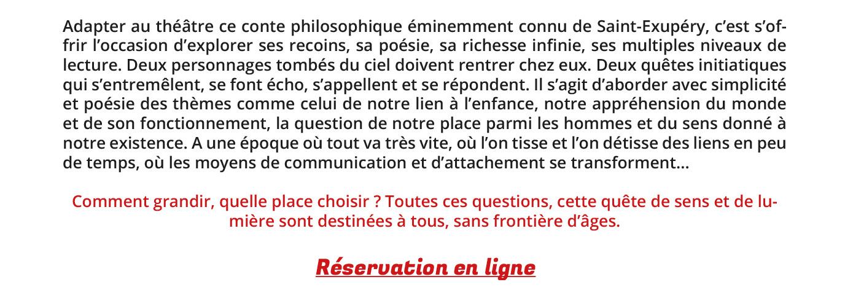 Le Petit Prince, l'Ile au trésor... une programmation Jeune public du Comédie Odéon NEWSLETTER-Jeune-public-Septembre-2021-4
